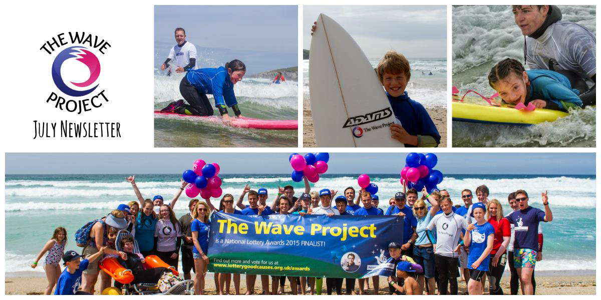 Wave Project News Header