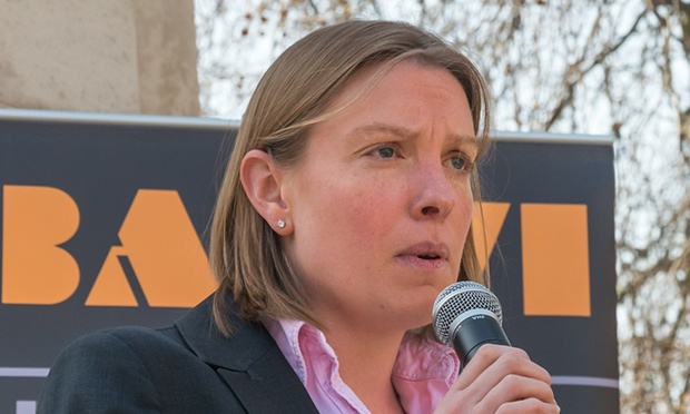 Tracey Crouch, the sports minister